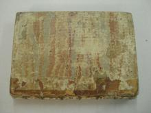 Book prior to restoration in poor condition.