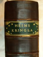 Heims Kringla 1696, Bound in contempory English style, in Full calf with a stained oxford panel, and green morocco label.